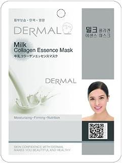 ミルクシートマスク(フェイスパック) 100枚セット ダーマル(Dermal)