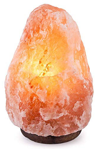 7-10KG Natural Healing IONES Therapeutic 100% Pure Himalayan Pink Crystal Salt Lamp Fine Quality