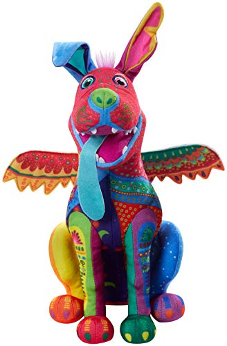Disney Pixar Coco Dante Alebrije Feature Plush, Soft Toys Based on Animated Films For Kids 3 Yrs and Up
