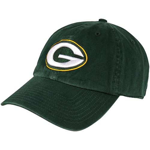 '47 Mens Green Bay Packers Brand Green Cleanup Adjustable Hat