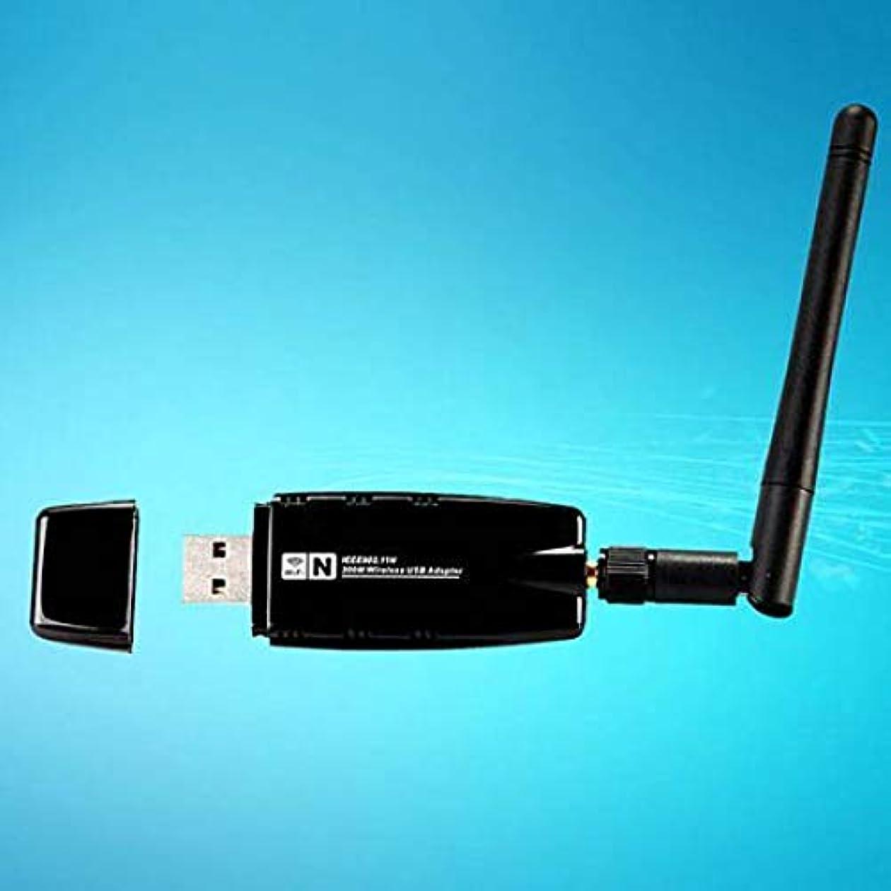 組シャンパンセラーFAIYIWO ポータブルモバイルホットスポット 300 Mbps 日付レート USB WiFi ドングルアダプター + アンテナ FAIYIWO