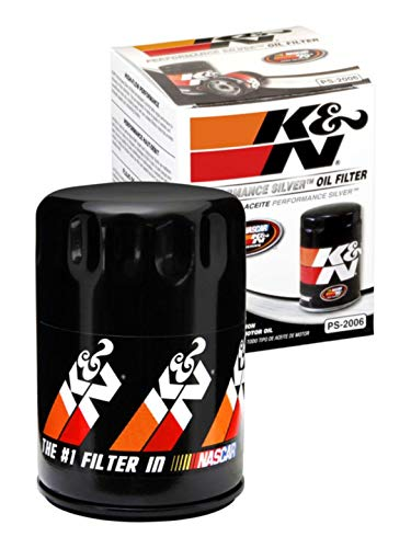 K&N Premium Oil Filter: Designed to Protect your Engine: Fits Select CHEVROLET/GMC/BUICK/CADILLAC Vehicle Models (See Product Description for Full List of Compatible Vehicles), PS-2006, Multi