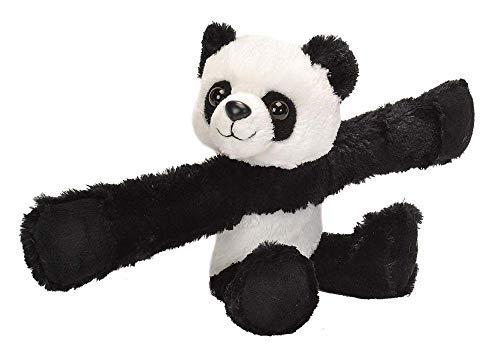Wild Republic - Huggers, Panda peluche con brazalete de presión integrado, 20 cm (19558)