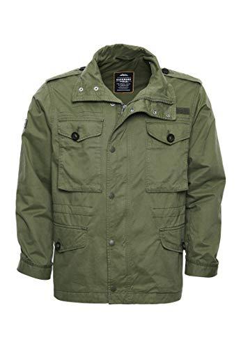 Superdry Herren Field Jacket Jacke, Grün (Fatigue Green L5L), XX-Large