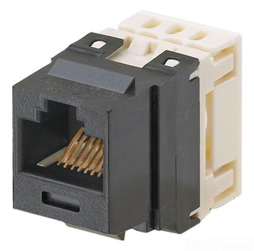 Panduit NK688MBL Category-6 8-Wire Jack Module, Black