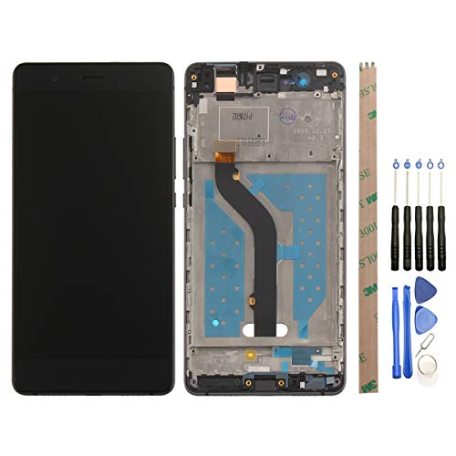 HYYT LCD Display+Touchscreen Digitizer für Huawei P9 lite 2016 mit Frei Werkzeuge (Schwarz+ Rahmen)
