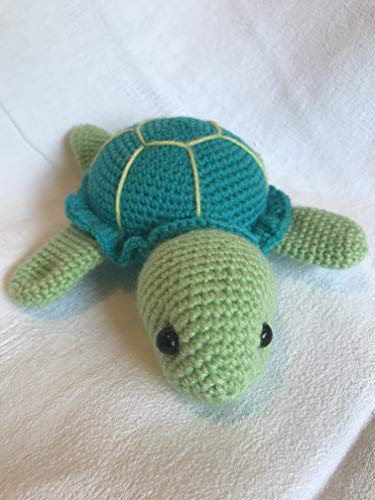 Peluche tortue 20cm crochet pour enfant