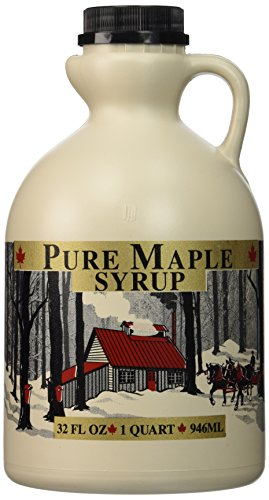 Empty Maple Syrup Jugs  Quart 32 FL OZ Each  Case of 4 Containers