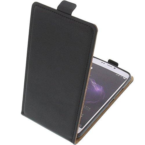 foto-kontor Tasche für Allview X4 Soul Style Smartphone Flipstyle Schutz Hülle schwarz