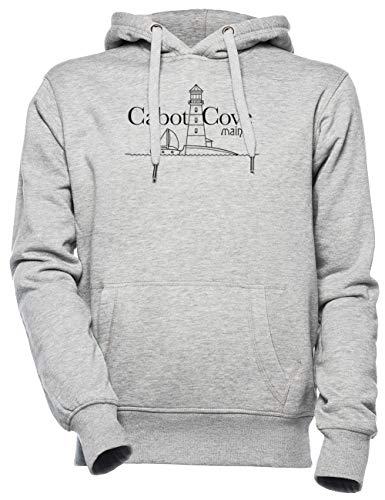 Cabot Cove, Maine - Murder She Wrote Unisexo Hombre Mujer Sudadera con Capucha Gris Unisex Men's Women's Hoodie