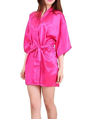 Kimono Baño Albornoz Novia Los Y De Hombres Dama De Moda