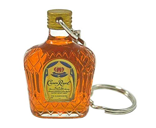 Crown Royal Miniature Bottle Keychain
