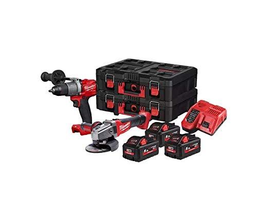 Techtronic Industries MILWAUKEE 4933478827 - Batería M18FPP2D2-553P (18,0 V, 220 V)