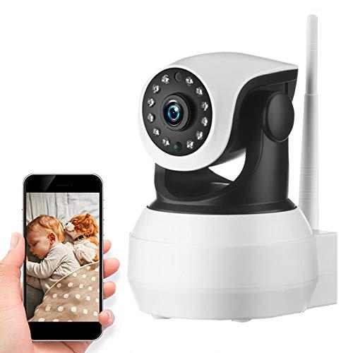 AINSS Cámara De Vigilancia Interior,PTZ IP Cámara 4G 3G SIM Tarjeta 1080P HD,Detección De Movimiento,Audio Bidireccional,Visión Nocturna,para Ancianos/Bebés/Mascotas 【4G-Cámara+32G】