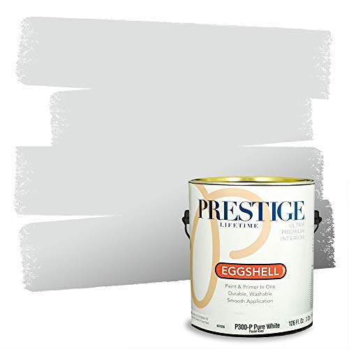 Prestige Paints Interior Paint and Primer In One, 1-Gallon, Eggshell, Comparable Match of Benjamin Moore* Pearl River*