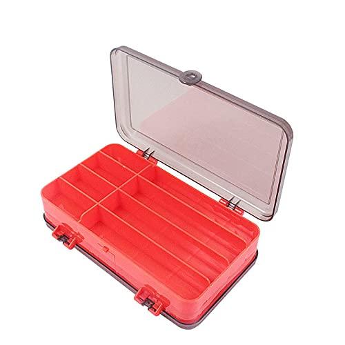 Fsrybh Caja de Almacenamiento portátil de Cebo de Doble Cara