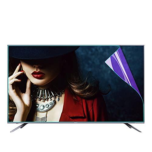 WLWLEO Protector de Pantalla Anti luz Azul para TV de 32 Pulgadas Filtro antirradiación antideslumbrante Película Protectora HD para LCD, LED, OLED y QLED 4K HDTV,32' 698×392mm