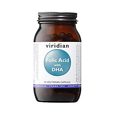 Viridian Nutrition Folic Acid with DHA - 90 Vegicaps by Viridian Nutrition