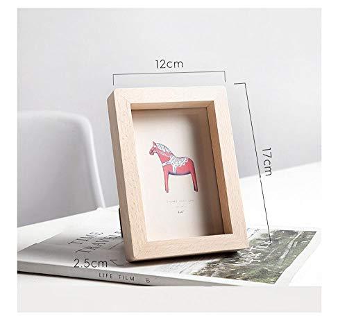 Straight A student Einfacher hölzerner Fotorahmen, wie EIN Gedeckter Tisch, kreative Wohnwand, Fotorahmen-Bilderrahmen@Andere Größen_Fotorahmen Medium