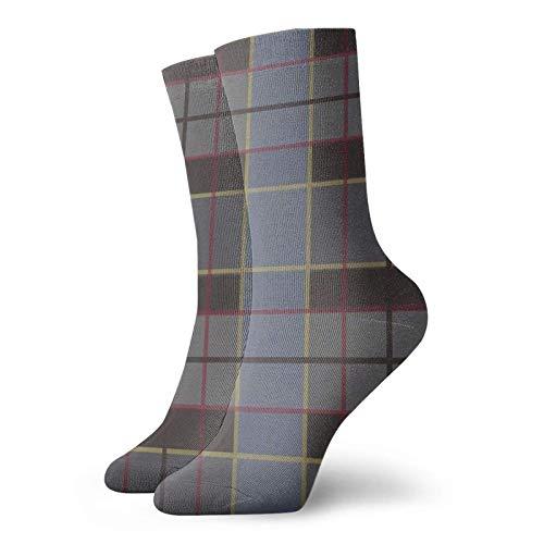 Calcetines de algodón unisex Outlander, Fraser Clan Tartan Throw Pillow Calcetines personalizados Calcetines deportivos deportivos Calcetines para hombres Mujeres