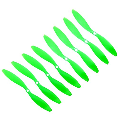 RAYCorp Genuine Gemfan 9047 (9x4.7) Propellers for DJI Phantom 8 Pieces(4CW, 4CCW) Green 9-inch Props Battery Strap