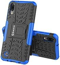 Bracevor Hybrid Back Cover Kickstand Case for Samsung Galaxy M10 - Blue | Rugged Defender