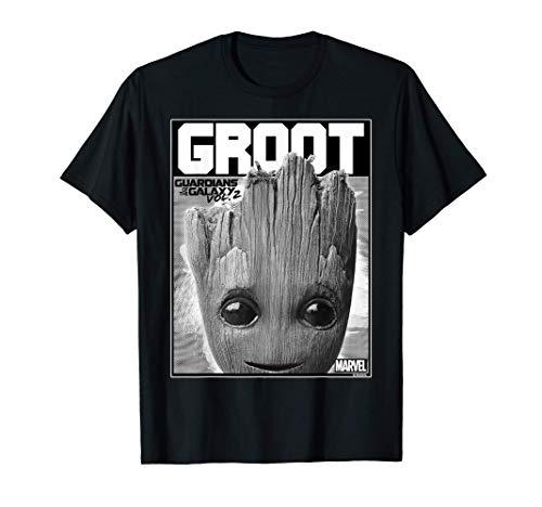 Marvel Guardians Vol. 2 Baby Groot Close-Up Camiseta