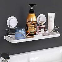 HTTZWJ スクエアウォールシャワーラックトレイバスケット棚キッチンシンクトイレ浴室用ステンレス鋼のストレージ家具シェルフ、パンチング無料、 Z8W8J8