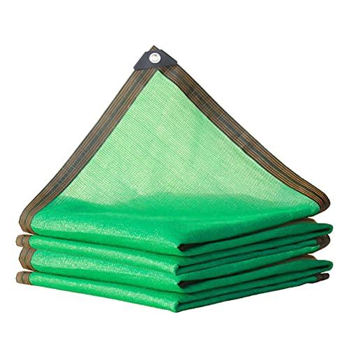KUAIE Paño De Sombra Anti-UV Borde A Prueba De Lluvia Red De Sombra Tela Toldo, para Balcones, Azoteas, Patios, Pérgola Verde, 20 Tamaños (Color : Green, Size : 5×6m)