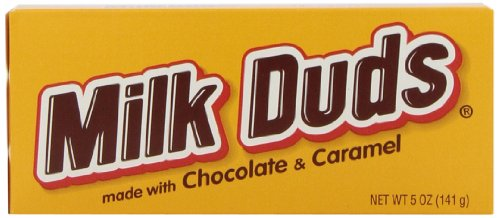 MILK DUDS Chocolate and Caramel Candy, 5 Ounce (Pack of 12) by Hershey