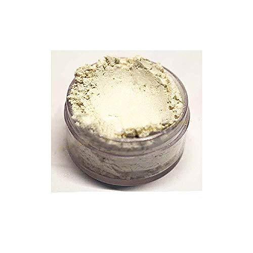 KandyDip Effektpigment White Widow Perlmutt Pearl Perlglanz Metallic Farbpulver Pigment für Epoxidharz Autolack Sprühfolie Pigmente Aquarell Seife Powder (25 Gramm)