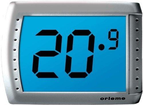 Design Miscelatore Termostatico Con Beccuccio, Display Retroilluminato–Alimentazione a batteria