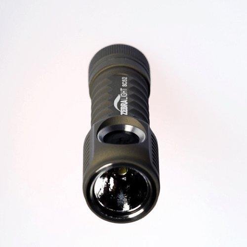 Zebralight SC52 L2 AA Flashlight Cool White