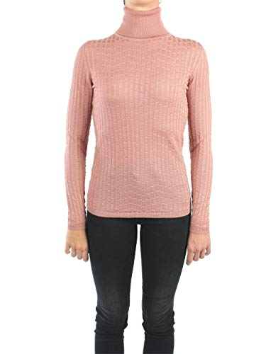 Missoni 2DN00115 2K002R Hochgeschlossene Pullover Damen Alte Rose 48