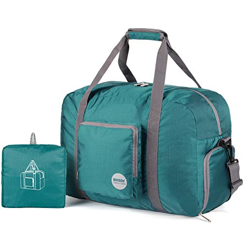 20″ Foldable Duffle Bag 40L for Travel Gym Sports Lightweight...