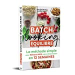 Batch Cooking équilibre de Pascale Weeks