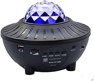 USDWRM USB Starry Watermark Bluetooth Music Starlight Projector Stage Watermark Projection Lamp Night Light Star Projector...