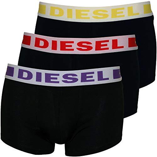 Diesel 3er Pack Boxer Stamm UMBX-Kory, Schwarz Mit Lila/Rot/Gelb X-groß Schwarz Mit Lila/Rot/Gelb