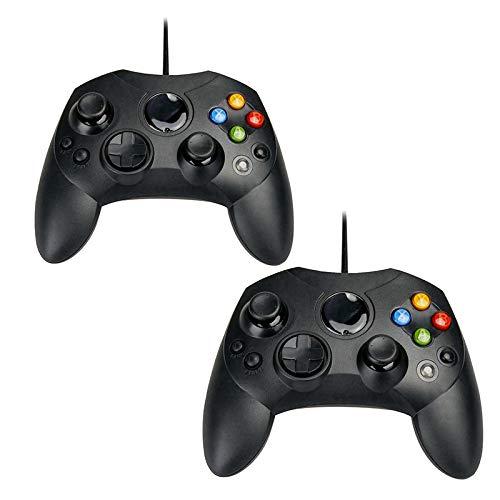 QUMOX 2X Gamepad cablato per Controller Xbox per Xbox Classic, Non per Xbox 360 e Xbox One