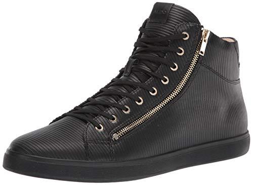 ALDO Men's Kecker Sneaker, Black, 10.5 M US