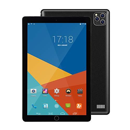 LTLJX Tablet de 10 Pulgadas Android 9.0 Octa Core 3GB de RAM 32GB ROM Tablet PC WiFi incorporada Bluetooth y cámara GPS Dos Ranuras para Tarjetas SIM Desbloqueadas Llamada telefónica 4G Phablet,Negro