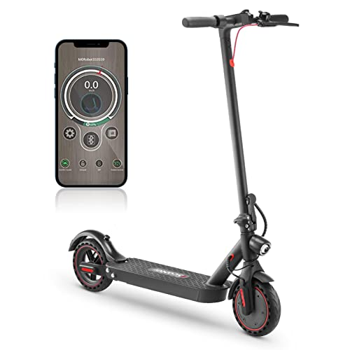 i9pro Electric Scooter 350W Motor Foldable Scooter with Shock Absorber,Speed Up to 30km/h,8.5 Inch Honeycomb Tires,E-scooter,LED Display Commuter Electric Scooter for Adults Load 265lb