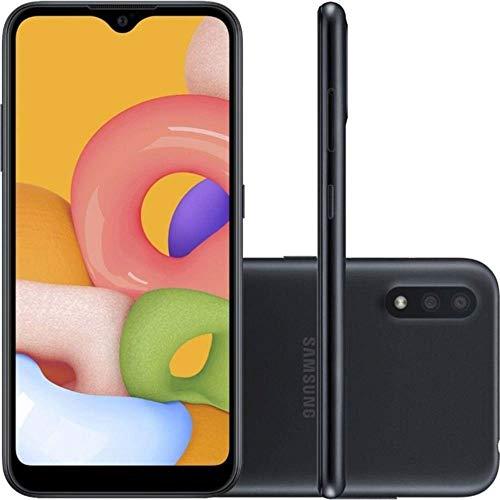 Smartphone Samsung Galaxy A01, 32GB - Preto