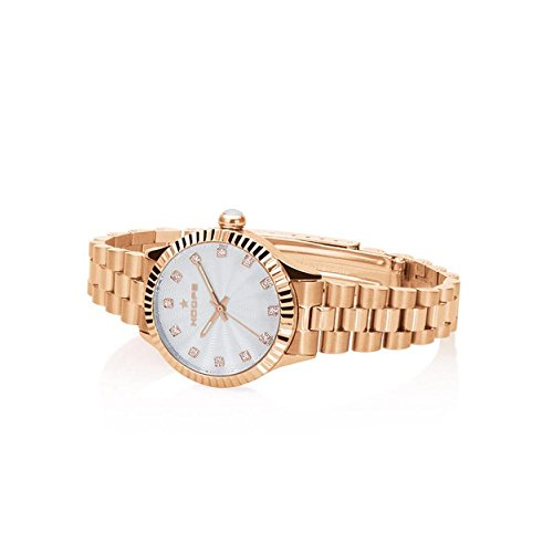 Orologio Donna Luxury Diamonds Rose Gold Silver 2569LD-RG02 - Hoops