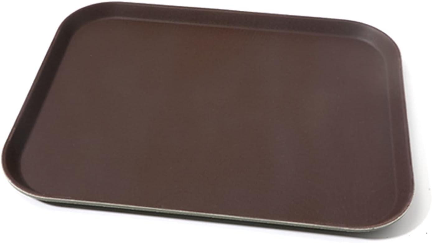Serving List price Tray Plastic Rectangular Tea Platter Drink Max 86% OFF