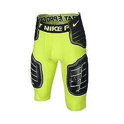 powerful Nike Pro Combat Hyper Strong Football Belt Bolt / Black Plus