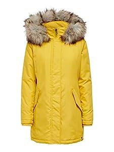 ONLY Damen ONLKATY Parka Coat CC OTW Jacke, Spicy Mustard, M
