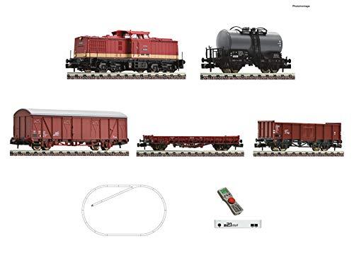 Fleischmann 931892 z21 Start Digitalset: Diesellok BR 110 mit Güterzug, DR
