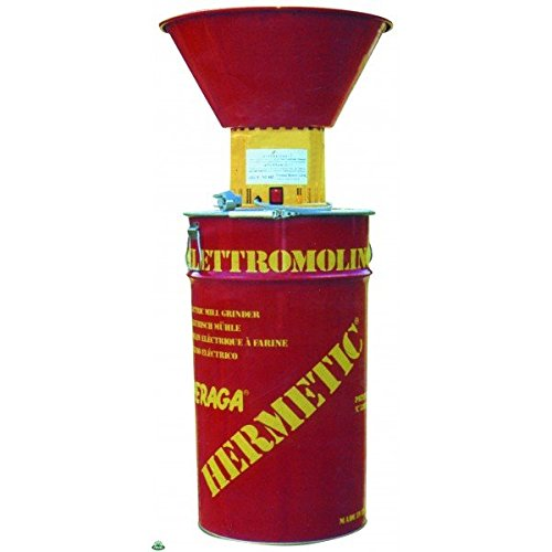 PERAGASHOP Elettromulino Macinatore Hermetic 800W Peraga Molino Mulino mulinetto