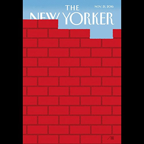 Couverture de The New Yorker, November 21st 2016 (Amy Davidson, Toni Morrison, Jill Lepore)